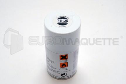 Tamiya - Blanc Pur Brillant TS-26 (bombe 100ml)