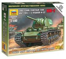 Zvezda - KV-1 mod 41 1/100