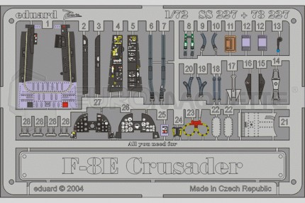 Eduard - F-8E Crusader (academy)