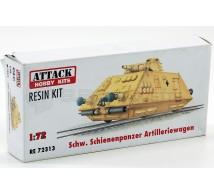 Attack - Wagon blindé / Pz IV tour.