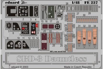 Eduard - SBD-3 Dauntless (hasegawa)