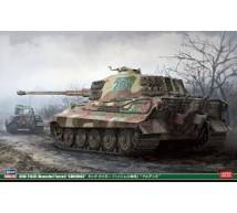 Hasegawa - King Tiger Henschel Ardennes