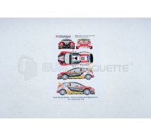 Racing decals 43 - Ford Fiesta 22 M-C 2014