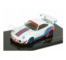 Ixo - Porsche RWB 993 Martini blanche