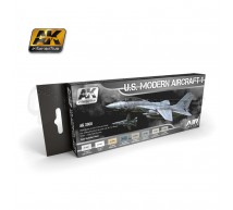 Ak interactive - Coffret modern US airplanes