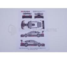 Racing decals 43 - Porsche 911 GT3 Daytona 2012