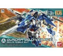 Bandai - HG Gundam 00 Diver Ace (0225756)