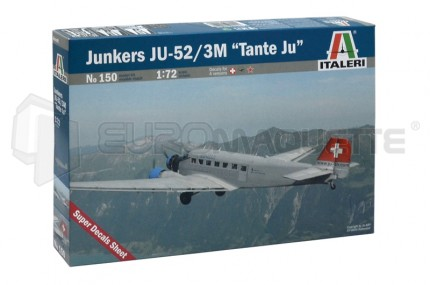 Italeri - Ju-52  Civil