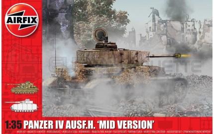Airfix - Pz IV Ausf F/N Mid Prod