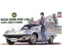 Hasegawa - Mazda Cosmo Sport & girl