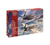 Italeri - Combo P-47N / P-51D (WT)
