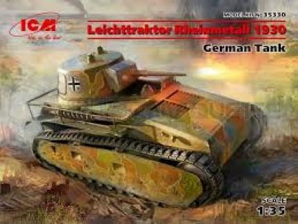 Icm - Leichttraktor Rheinmetall 1930
