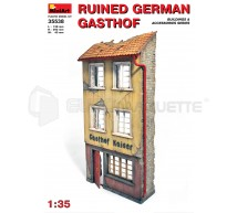 Miniart - Ruine d'auberge Allemande