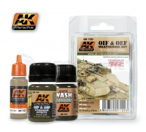 Ak interactive - Weathering set OIF/OEF