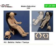 Gf models - Pilote rallye sans casque