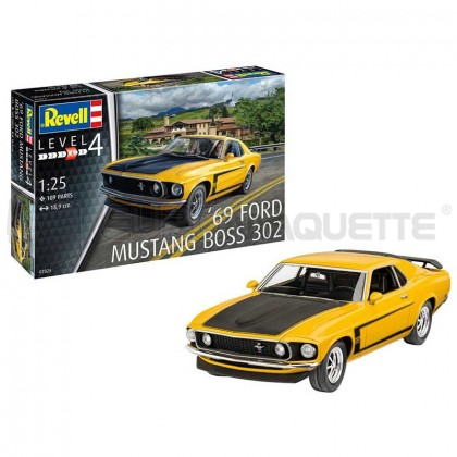 Revell - Ford mustang boss 302 1969