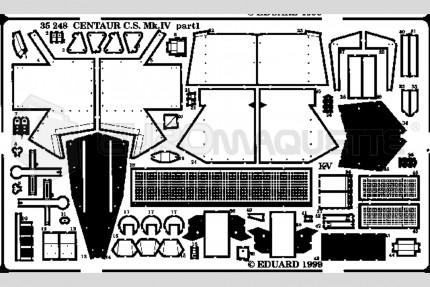 Eduard - Centaur C.S Mk IV (tamiya)