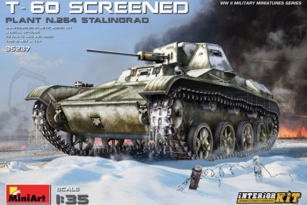 Miniart - T-60 screened Plant N264 Stalingad