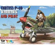 Tiger model - P-40 EGG & pilote