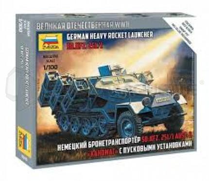 Zvezda - SdKfz 251 & HRL 1/100