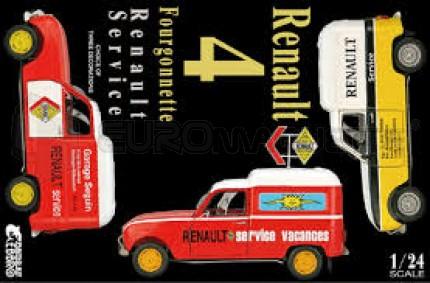 Ebbro - Renault 4 Fourgonnette Renault Service