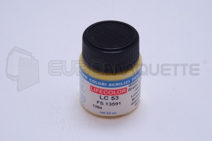 Life Color - Jaune Brillant LC53 (pot 22ml)