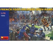 Miniart - Soldats Français Xve