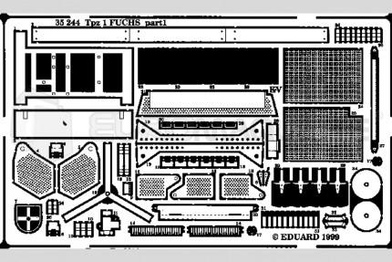 Eduard - Tpz I Fuchs 6x6 (revell)