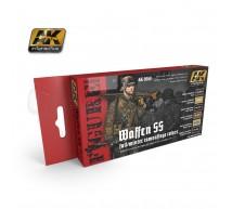 Ak interactive - Coffret Waffen SS uniform winter