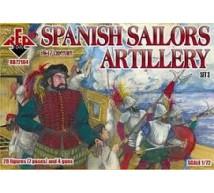 Red box - Spanish sailors 16/17e S (Set 3)