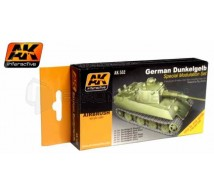Ak interactive - Coffret  German Dark Yellow