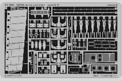 Eduard - A6M5c Zero exterieur (tamiya)