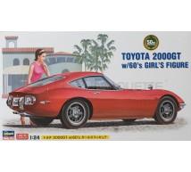Hasegawa - Toyota 2000 GT & Boy