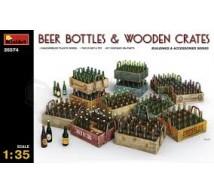 Miniart - Bouteilles de biere & cageots