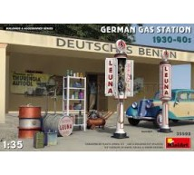 Miniart - German Gas station 1930/40