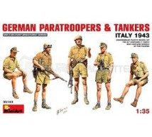 Miniart - German Paras & Tankers Italy 43