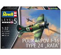 Revell - I-16 Rata (ex ICM)