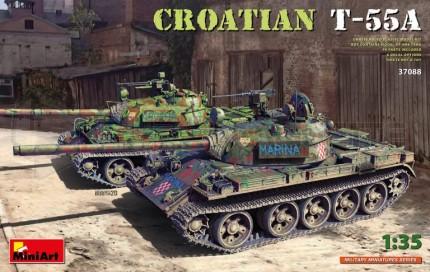 Miniart - Crotian T-55A