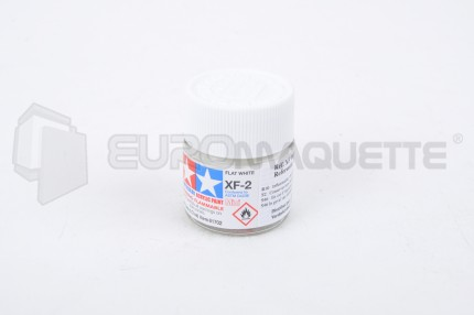 Tamiya - Blanc mat XF-2 (pot 10ml)