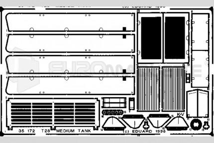 Eduard - T-28 Medium Tank (aer)