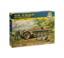 Italeri - SdKfz 10 Demag D7