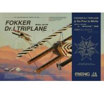 Meng - Fokker Dr1 & Pour lme Merite Médal