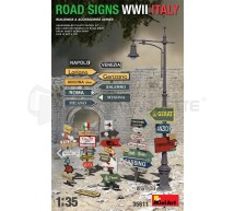 Miniart - Road signs WWII Italy