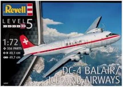 Revell - DC-4 Balair/ Iceland Airways