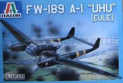 Italeri - Fw-189 A1 UHU