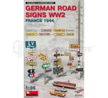 Miniart - German road signs France 1944