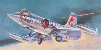 Hasegawa - F-104C Starfighter US
