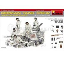 Miniart - German tank crew winter & armement