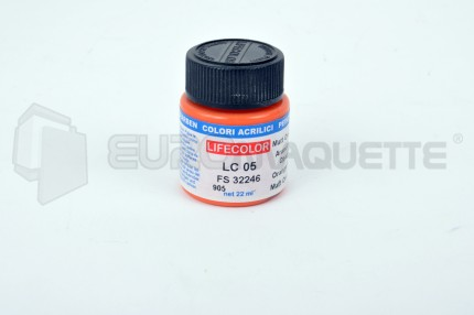 Life Color - Orange mat LC05 (pot 22ml)
