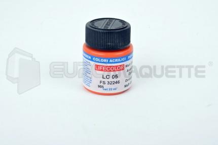 Life Color - Orange mat LC05 (pot 22ml)